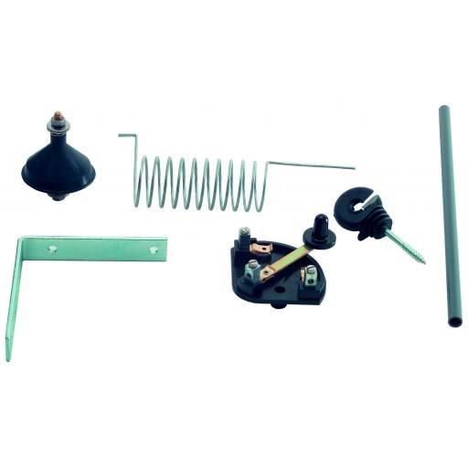 Bliksembeveiliging voor elektrische hekken