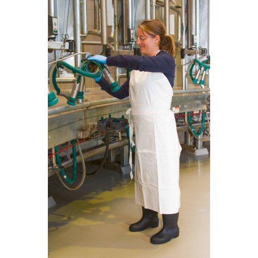 Melken schort en wassen schort - 100 x 125 cm.