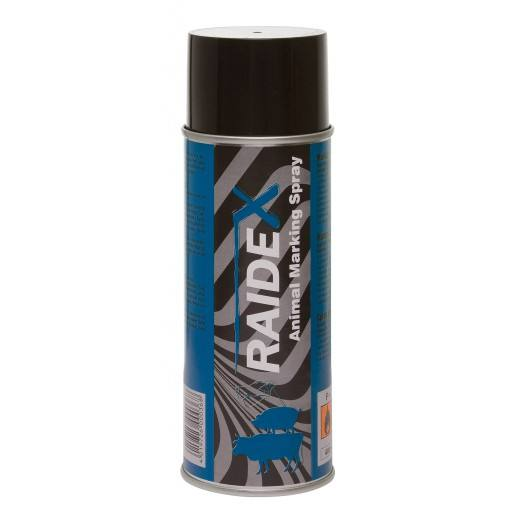 Vee ondertekenen spray Raidex 400 ml, blauw