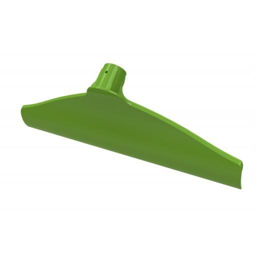 Mest schraper kunststof 40 cm, groen