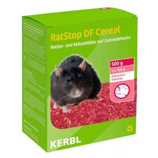 RatStop DF granen 500 gr. (Difenacum)