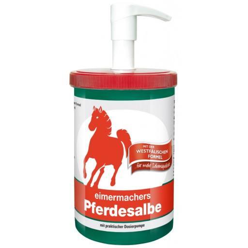 Paard zalf emmer maker 1000 ml pot met dispenser