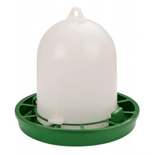Pluimvee feeder, groene 1 kg