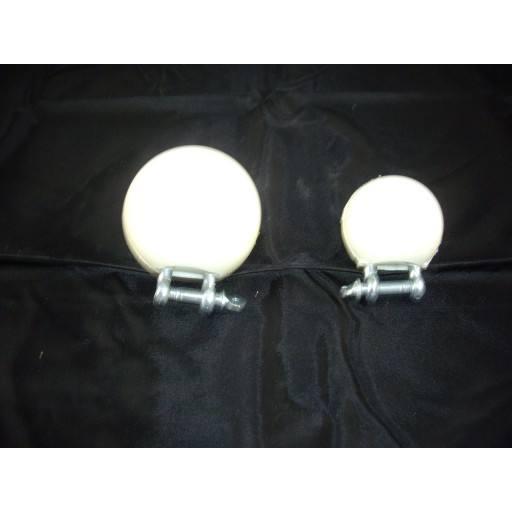 Bijten-bal 55 mm voor biggen