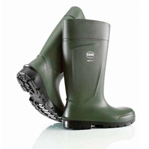 Bekina ® Agrilite S5 - Veiligheidslaarzen met stalen Cap & staal enige