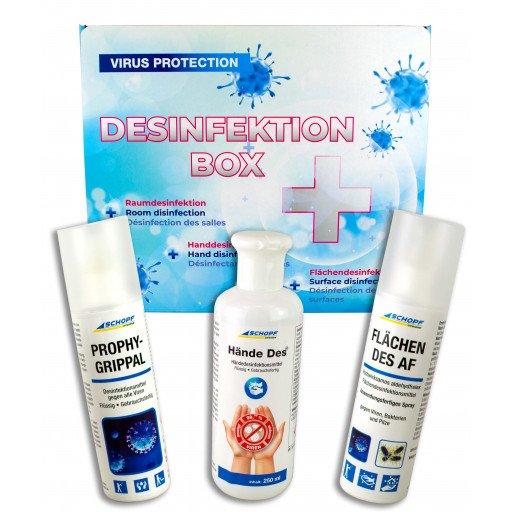 Schopf Desinfektionsmittel Geschenkset