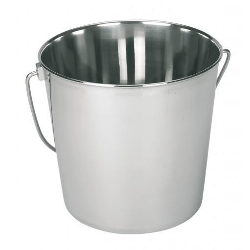 Roestvrij staal emmer 8,5 liter