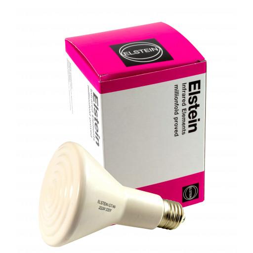 Elstein Dunkelstrahler 250 Watt E27 Wärmestrahler aus Keramik