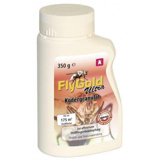 Poison voor vliegen, aas korrels FlyGold Ultra, 350 g
