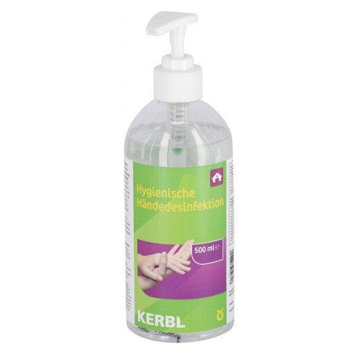 Hygienische Handdesinfektion - Spenderflasche - 500 ml