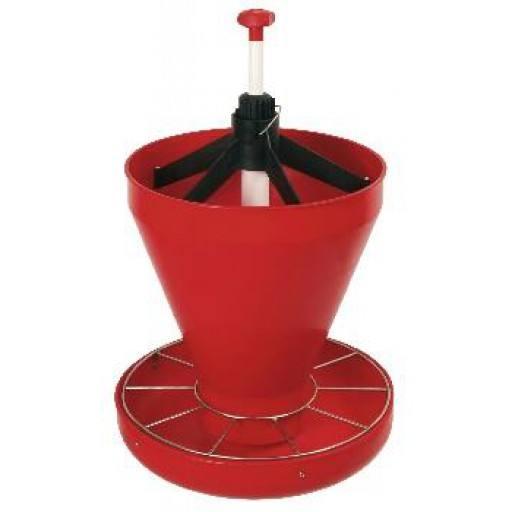 Klik op het vervoederen aan kom HOPPER PAN Maxi