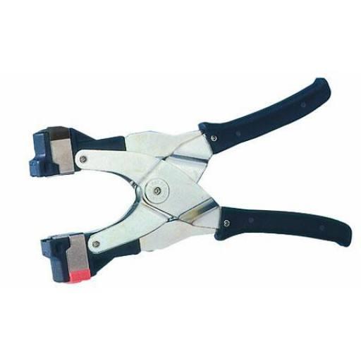 Reserveonderdelen Primaflex Tang rood + witte PVC deel plus 2 springs