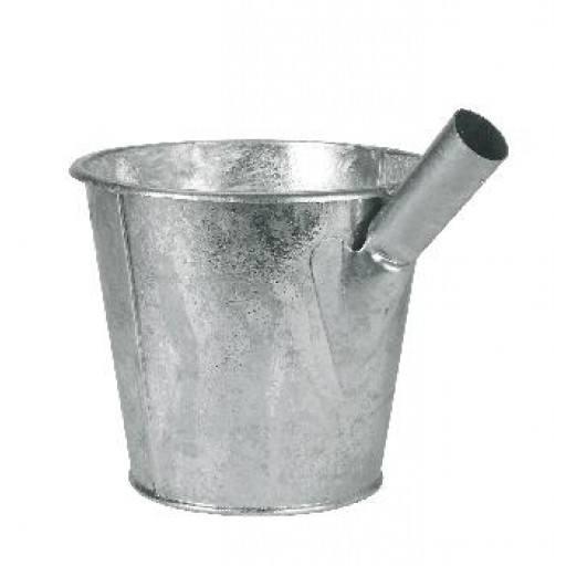 Schepper van vloeibare mest, gegalvaniseerd (6,5 liter)