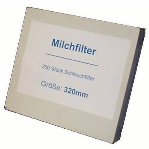 Melk filteren neutraal, genaaid, 620 mm - 250 stuks / Pack