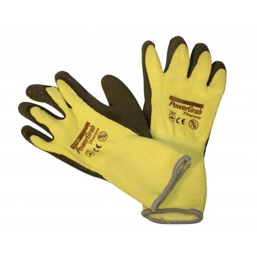 Kwaliteit handschoen macht grijpen Thermo, Gr. 7-11