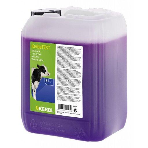 KerbaTEST Milchzelltest 5 Liter - Schalmtest Milchtest Milch Mastitis Test