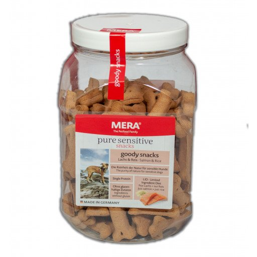 Mera Dog Mera Dog Goody Snacks Lachs und Reis, 600g