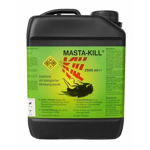 Doden vergif voor vliegen Masta, 2500 ml bus