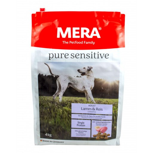 Meradog pure - lamb & rijst - 4 kg