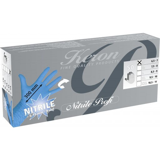 Nitril handschoenen Milkmaster - maat L - 50 stuks / Pack