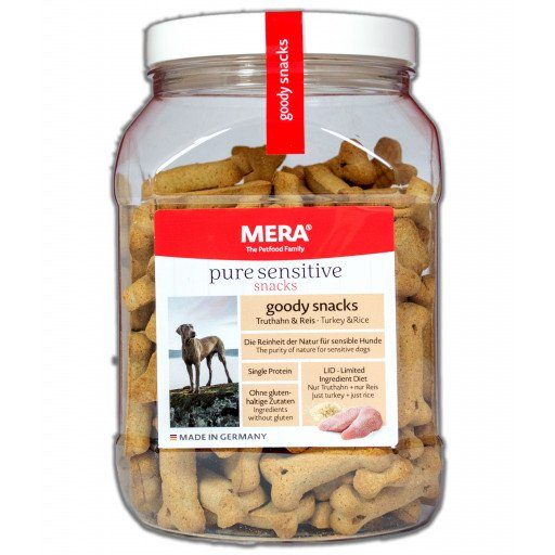 MERA hond Goody Eetcafé Turkije en rijst, 600 g