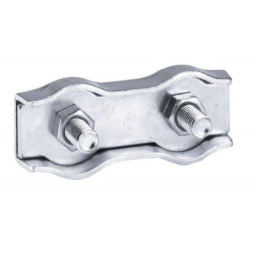 Kabel-aansluiting, roestvrij staal, voor 6 mm stalen kabel - 10 Stück / Pack