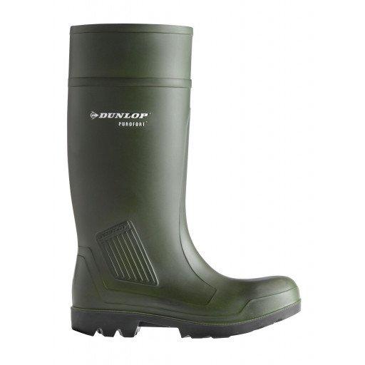 Dunlop ® Purofort S 5 professionele volledige veiligheid, grootte 42 - de oorspronkelijke Purofort Veiligheidslaarzen met stalen Cap & via cadans beschermer