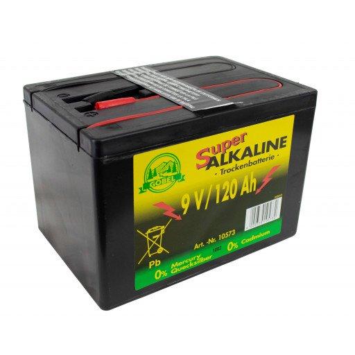 Weidezaun Batterie 9 Volt 120 AH, Alkaline