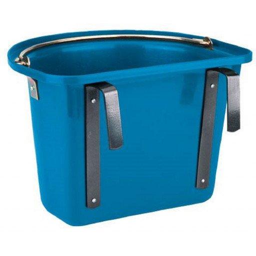 Vervoer wieg met een verkeerd-om ijzer & handvat, blauw