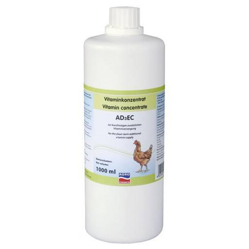 Vitamine concentraat AD3EC (1 L)