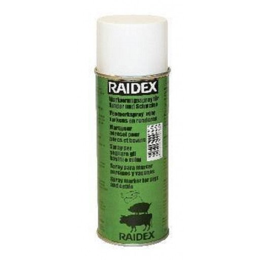 Vee ondertekenen spray Raidex 200 ml, groen