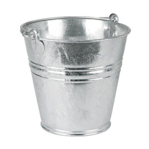 9 liter gegalvaniseerd water emmers