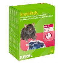 BrodiPads Gelpad 500 g serveren 15 g ABP. (Brodifacoum)