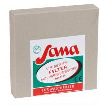 SANA filterschijven kunnen fleecefilter 220 mm Ø melkfilterschijven