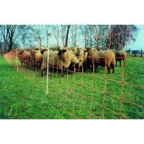 EURO-NETZ extra zwaar met dubbele tip, hoogte: 120 cm Lengte: 50 m - Schapen netwerk, schapen omheining