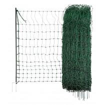 Pluimvee macht groen, elektrisch geleidend 50 m/112 cm twin tip
