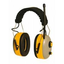 Gehoorbescherming met stereo radio