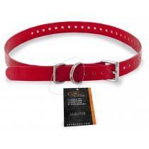 Kraag van 1, 9 cm rood - SAC30-13370