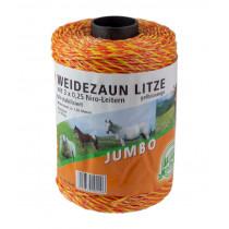 Weidezaunlitze Jumbo, 250 m Leiter 3 x 0,25 NiroJumbo, 250 m Leiter 3 x 0,25 Niro