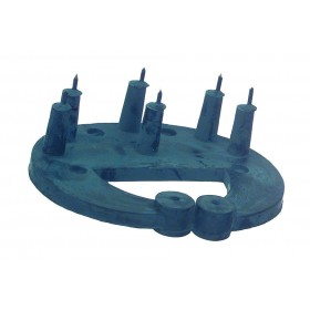 Saugentwöhner rubber klein model voor kalveren