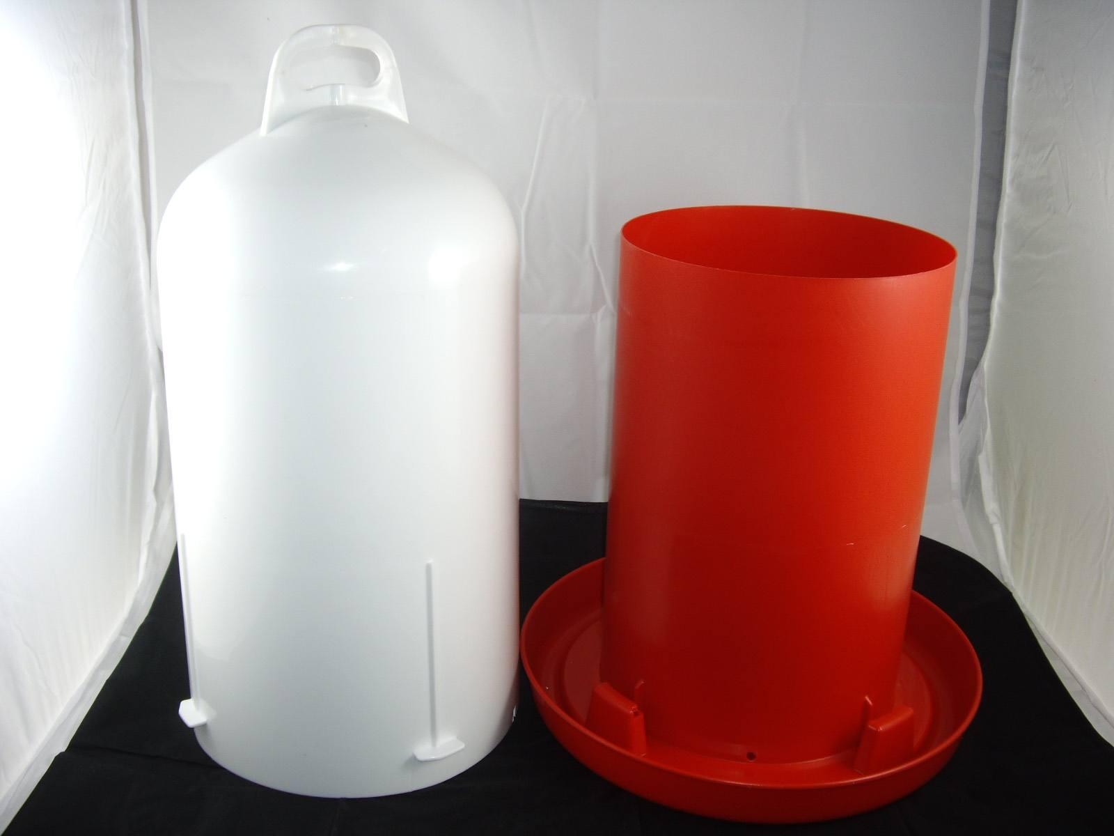 Doppelmantel Geflügeltränke Zylindertränke 12 Liter