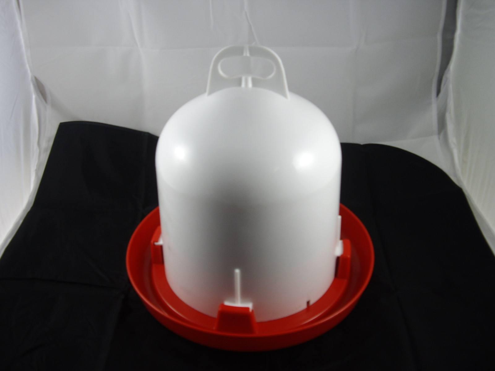 Geflügeltränke Doppelzylinder Doppelmanteltränke 6 Liter