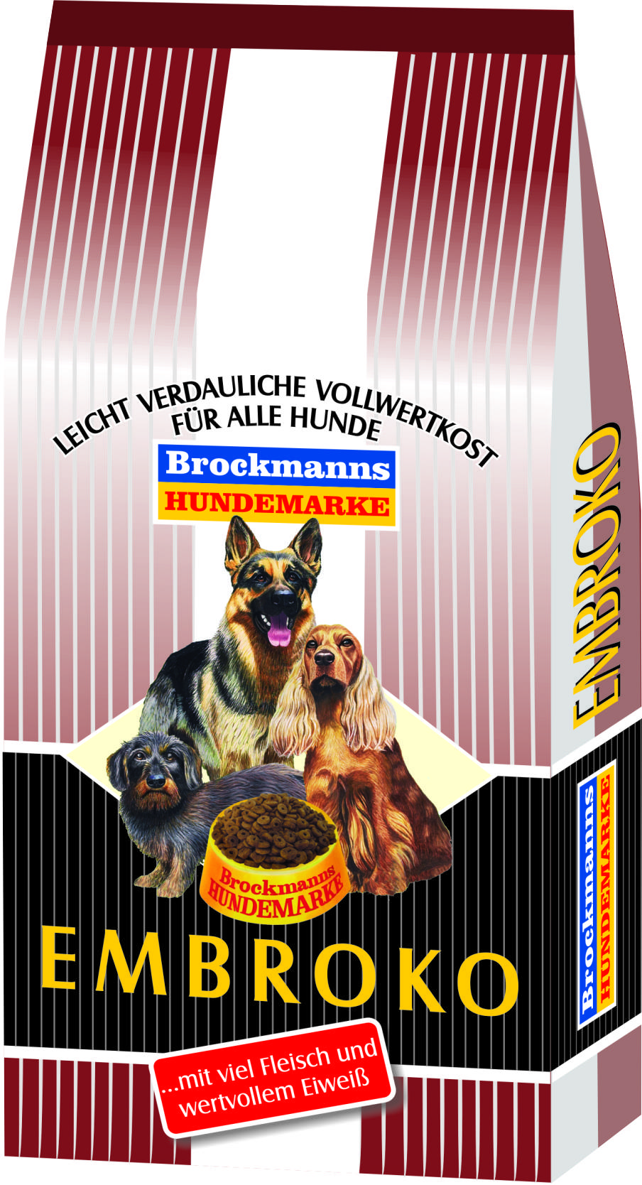 brockmanns hundemarke embroko hundefutter 15 kg. Black Bedroom Furniture Sets. Home Design Ideas