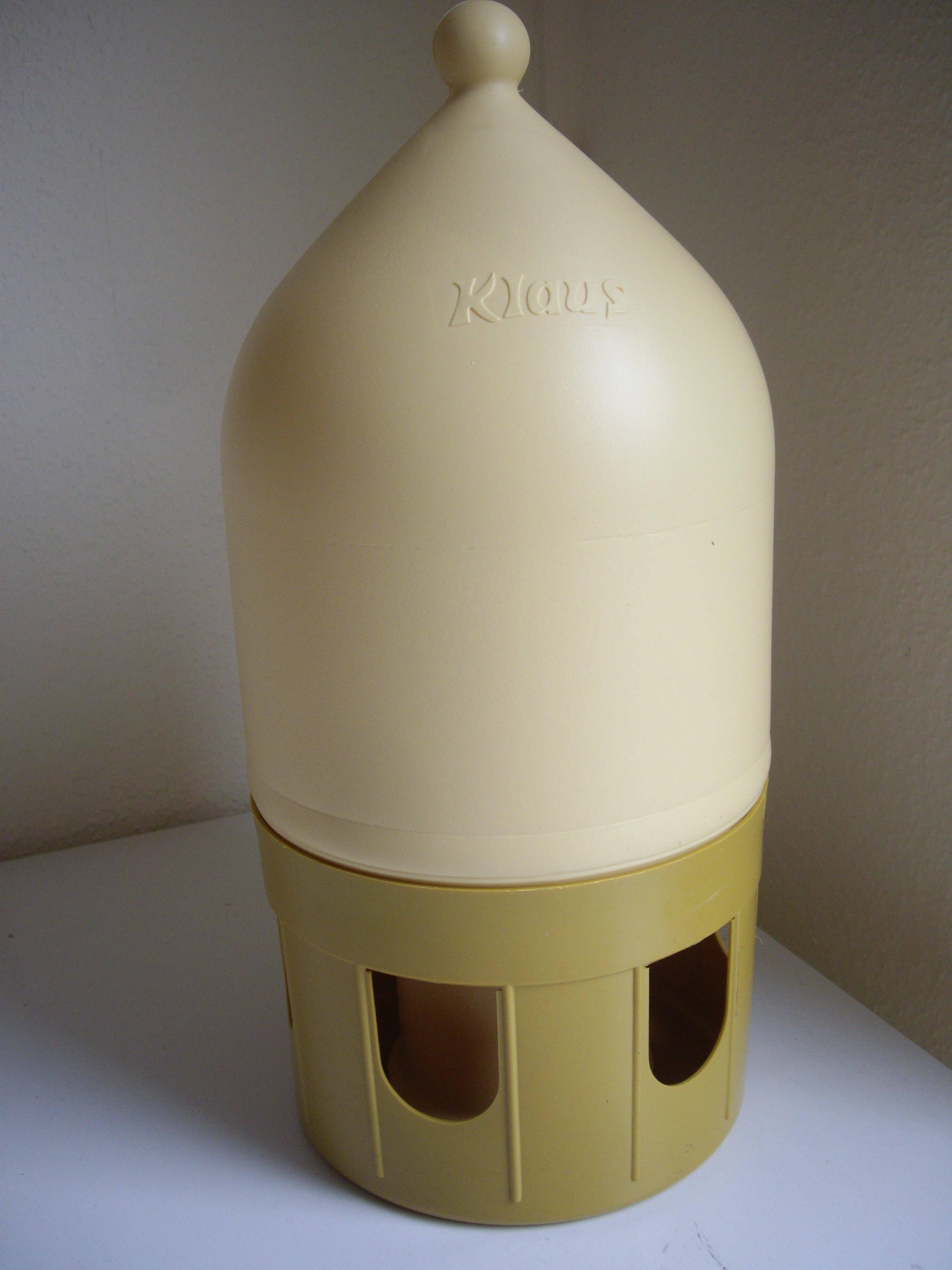 Taubentränke 5 Liter für Tauben und Fasane - Einfüllskala