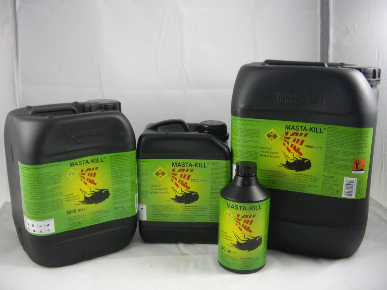 fliegengift masta kill 10 liter kanister gegen fliegen. Black Bedroom Furniture Sets. Home Design Ideas