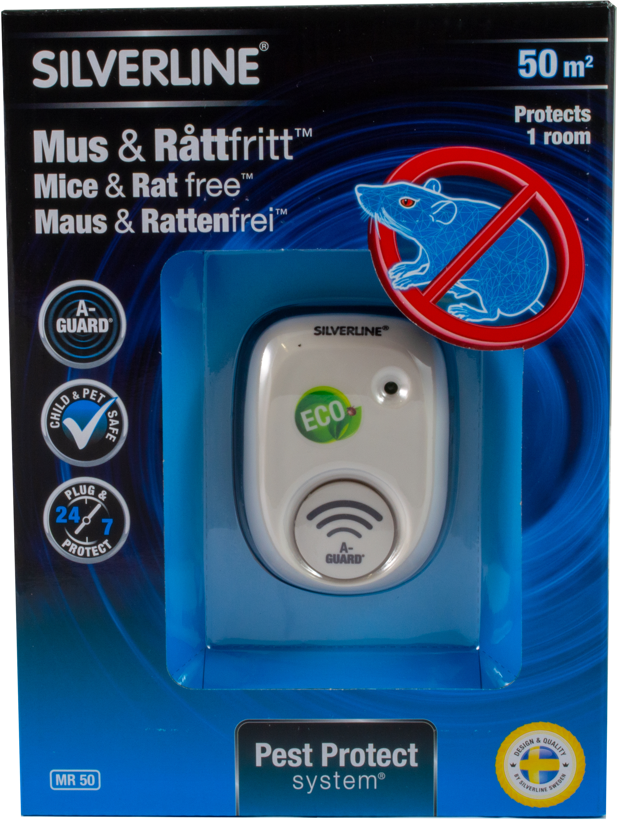 Silverline® Pest Protection system Mausfrei /& Rattenfrei 130 m²