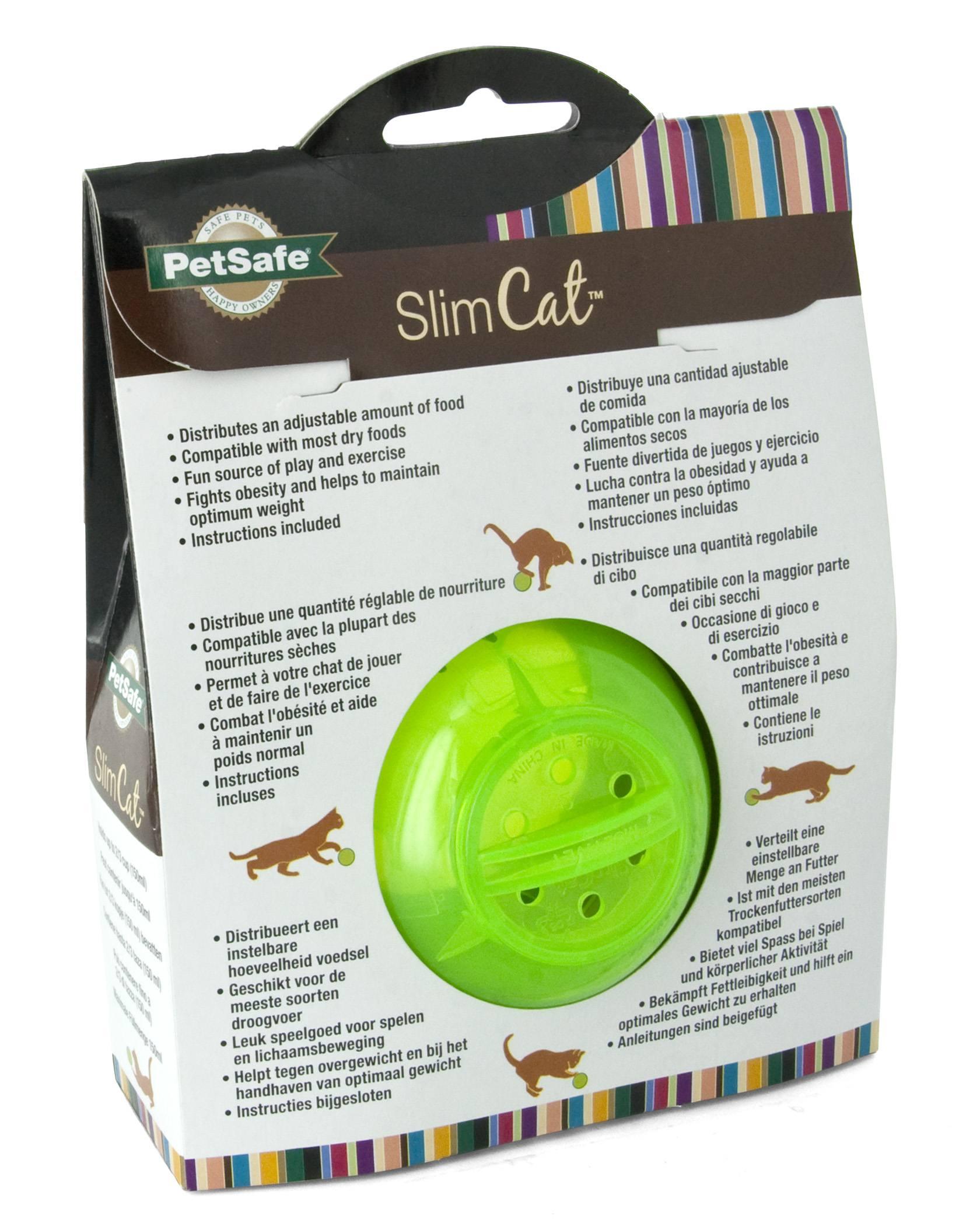 SlimCat™ grün - Abnehmhilfe für Katzen