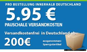 Agrarking.de bietet günstige Versandkosten und einen schnellen Versand!